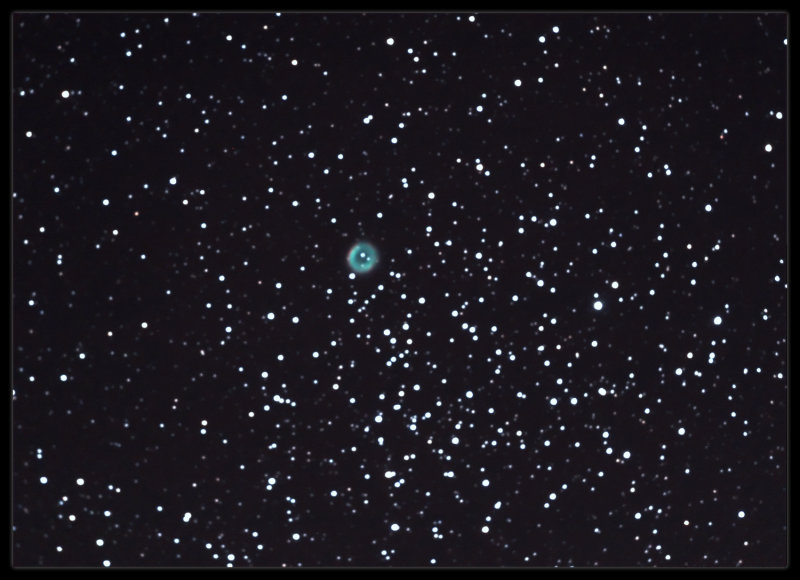 m46 with a planetary