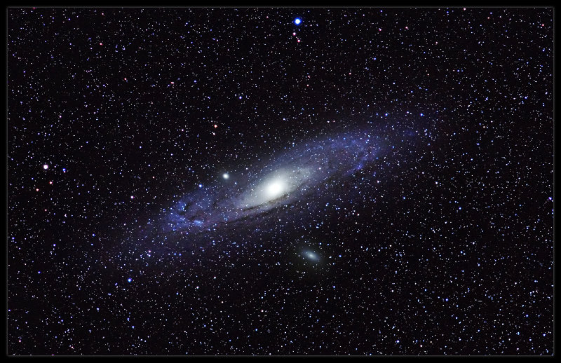M 31 with 200 mm lens