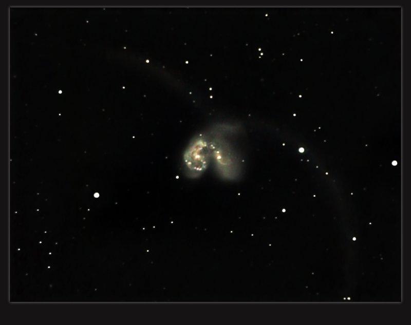 NGC 4038 AND NGC 4039 THE ANTENNA GALAXY