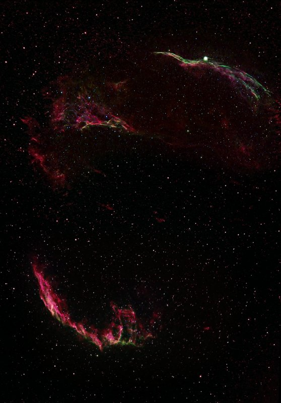 THE WHOLE VEIL NEBULA MOSAIC