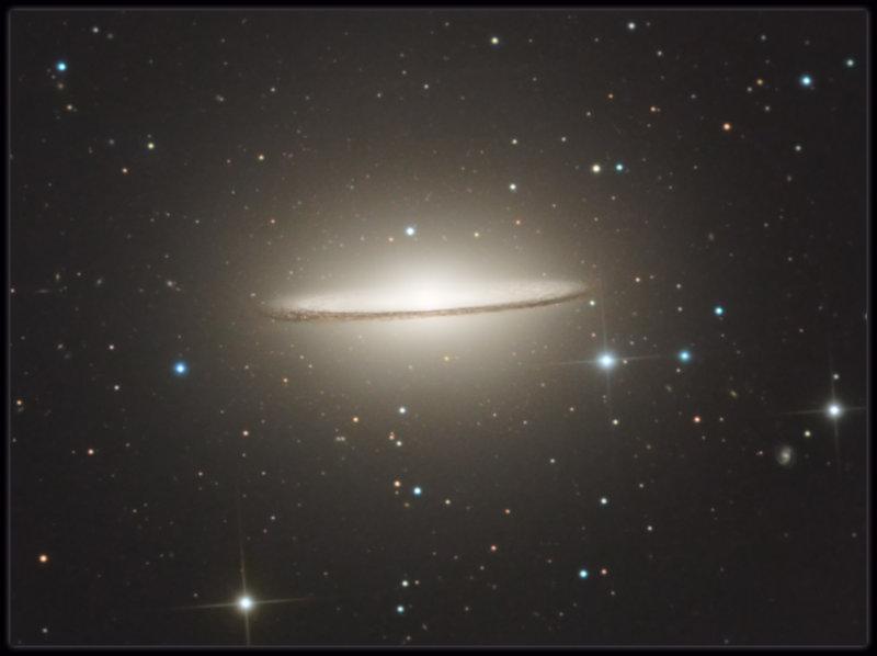 The Sombrero Galaxy - zoomed
