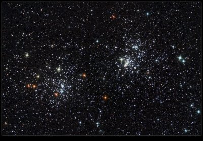 THE DOUBLE CLUSTER-ZOOMED