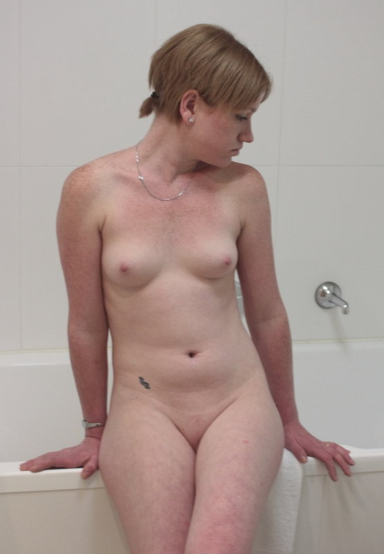 breasts freckles vulva hairless