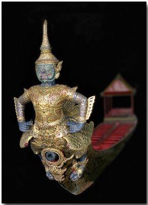 Asura-Vayuphak Royal Barge - Bangkok