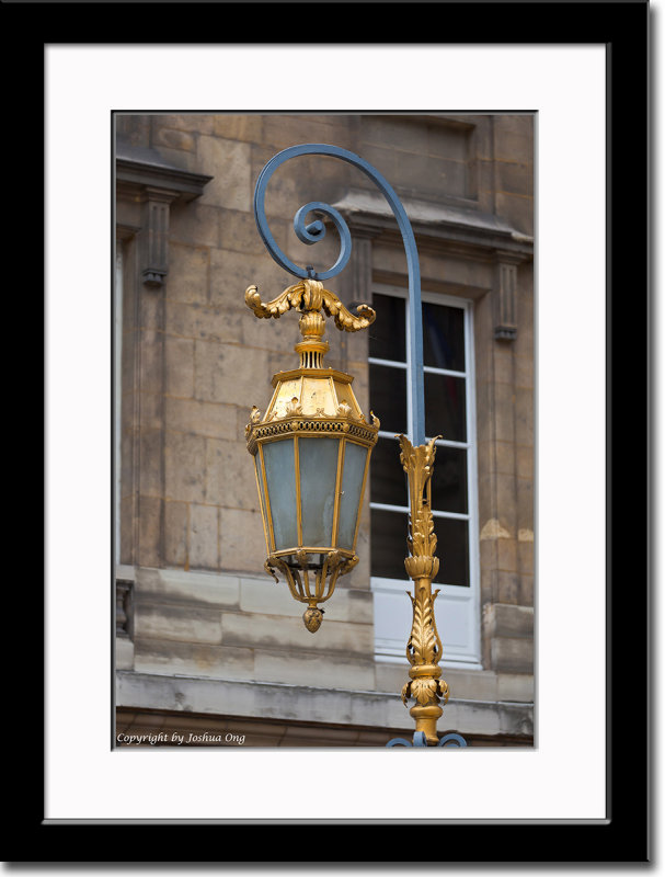 Lantern Near Palace of Justice