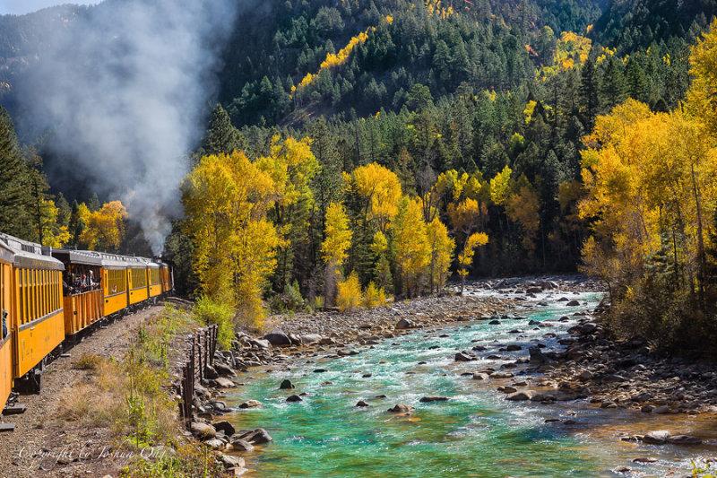 Train from Durango to Silverton