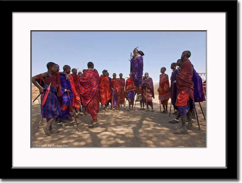 Maasai Warrior Dance