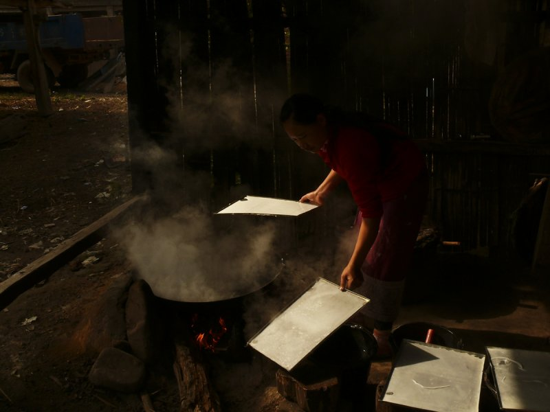Making noodles near Muang Singh.jpg