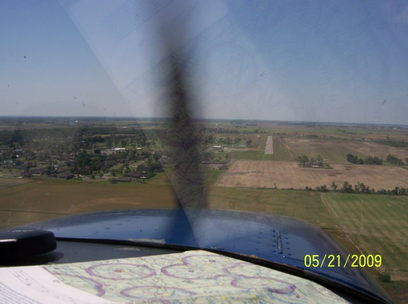 Approach to Caruthersville