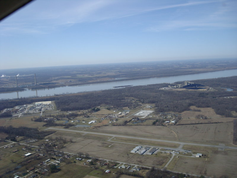 M30 with Shawnee Steam plant in background...Beautiful Day
