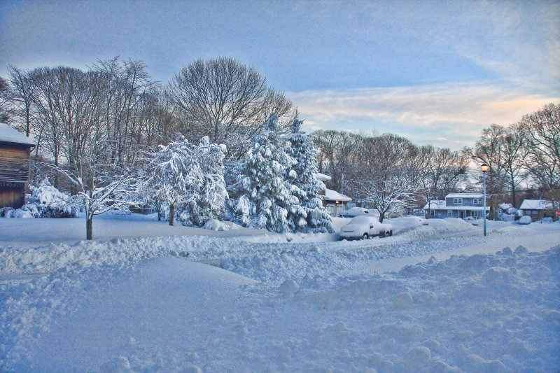 winter moring