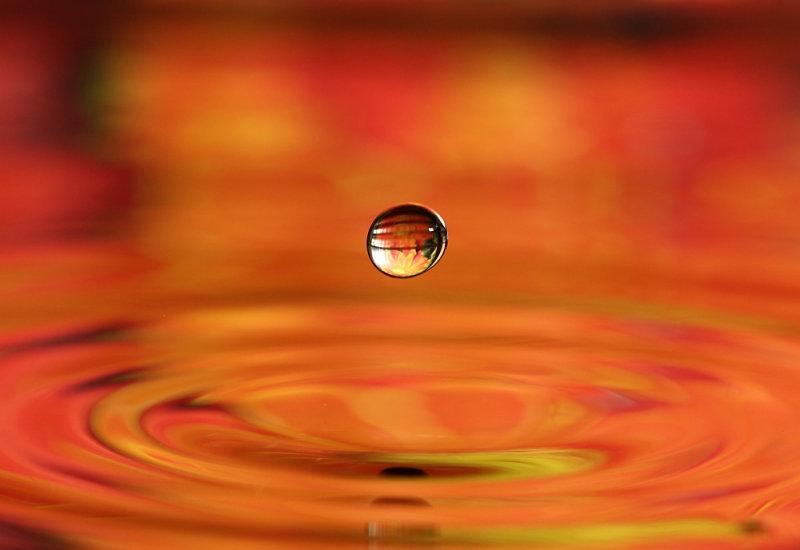 Water drop orange(IMG_7389ok.jpg)