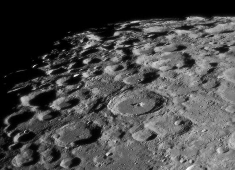 South Pole 09-Sept-09 23:10UT - LCROSS impact date lighting