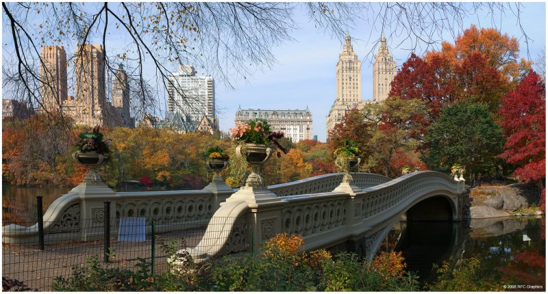 Bow Bridge Central Park West