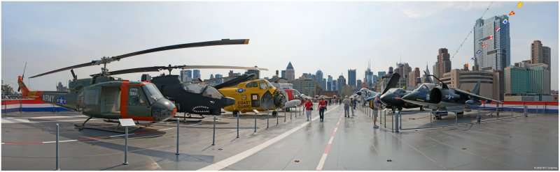 USS Intrepid Flight Deck Panorama 1