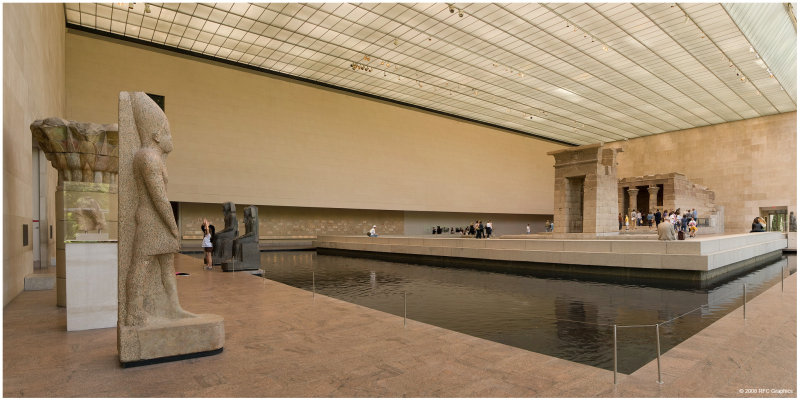 Temple of Dendur Panorama