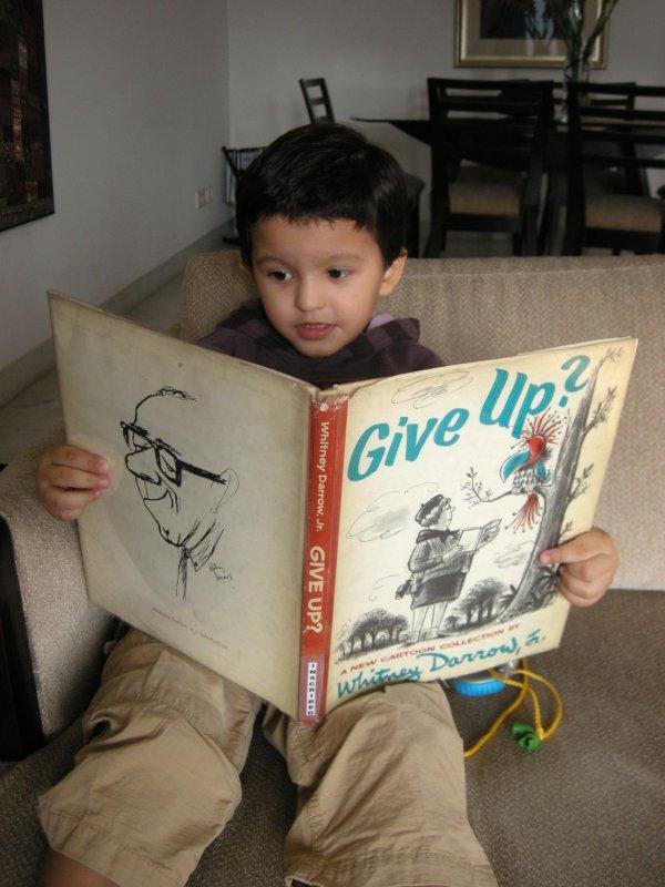 Rahil enjoying Give Up?