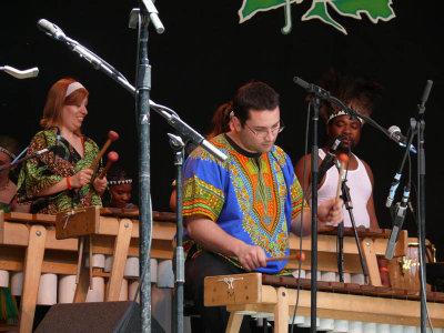 And lots of marimbas