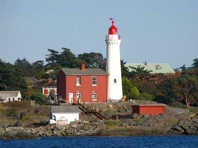 Fisgard Lighthouse.
