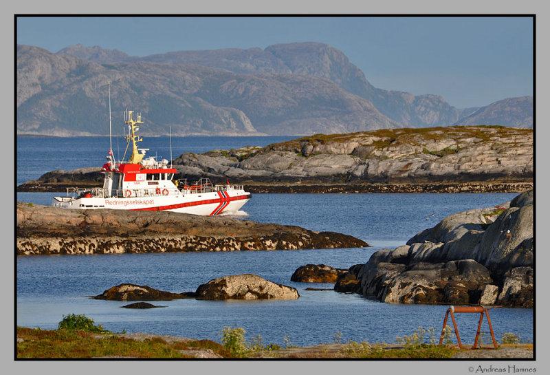 Rescue vessel : Harald V
