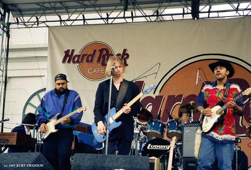 JONNY LANG CHICAGO HARD ROCK CAFE 1997