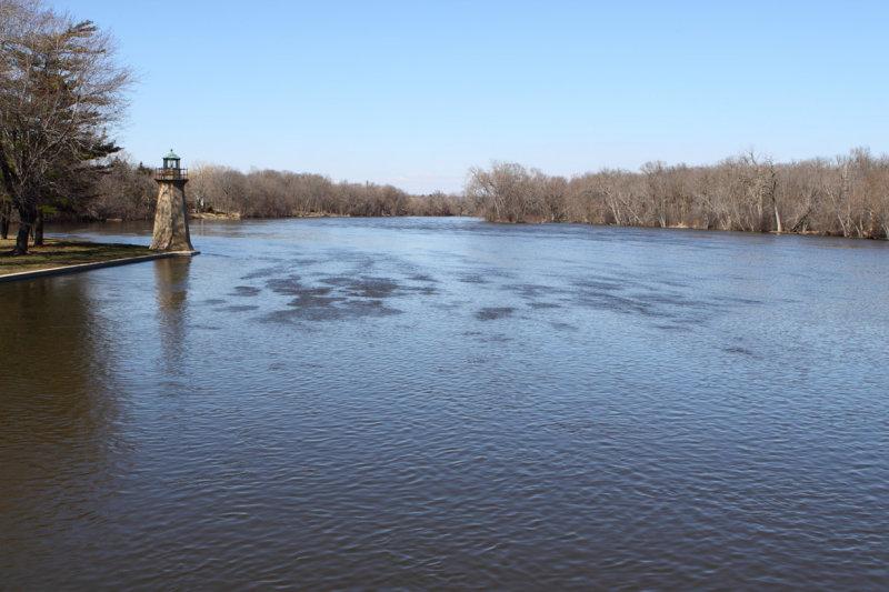 Fabyan Lighthouse on the Fox River