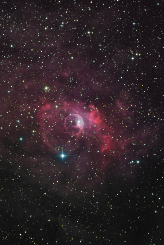 Bubble Nebula, NGC 7635