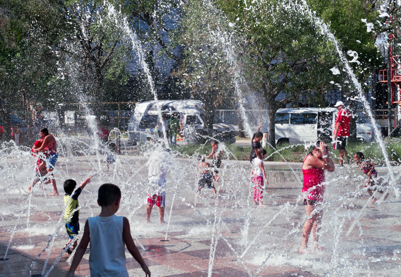 Discovery Green Gateway Fountain 06