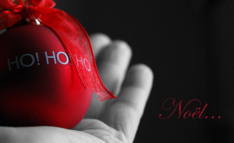 La boule rouge...