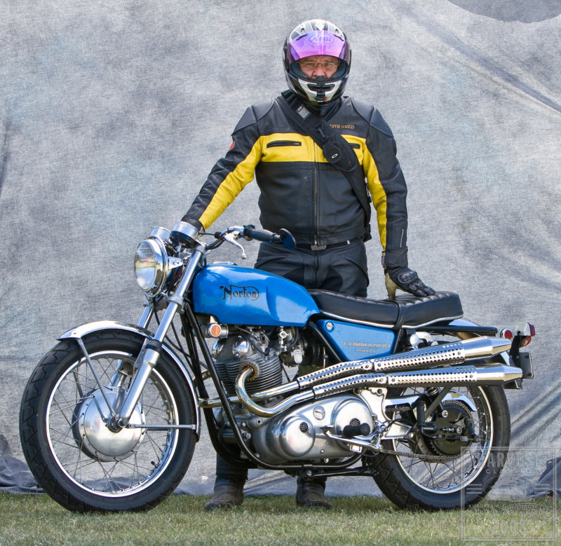 Me and the 750 Commando S