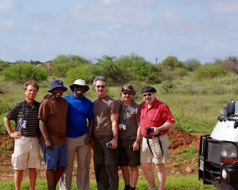 106 Ashley Amboseli Oltukai Day Two Giraffes with Group shot.jpg