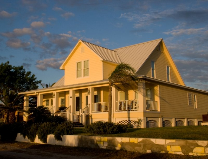 Yellow Beach House