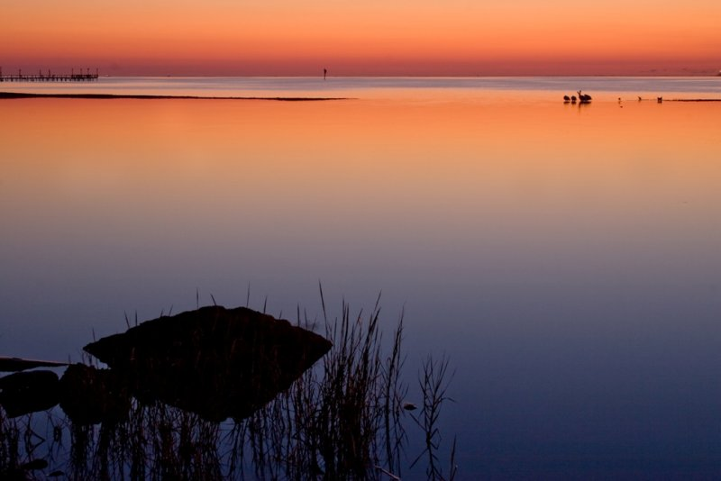 Dawn on Aransas Bay