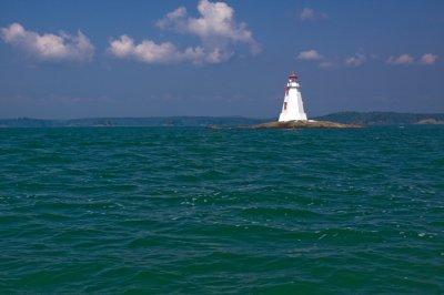 Lighthouse on Lake Huron
