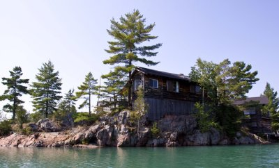 Boat Trip to see Island Cabins