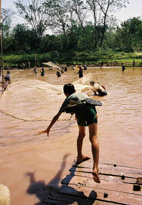 Annual fishing contest in Luang Namtha