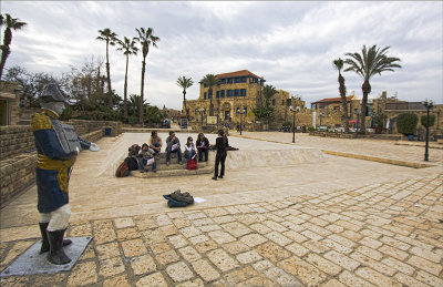 Kedumin Square in the old city of Jaffa.jpg