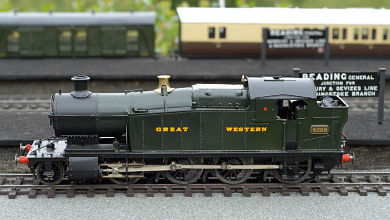 4289 - One of the large tank engines which used to haul coal from South Wales to London