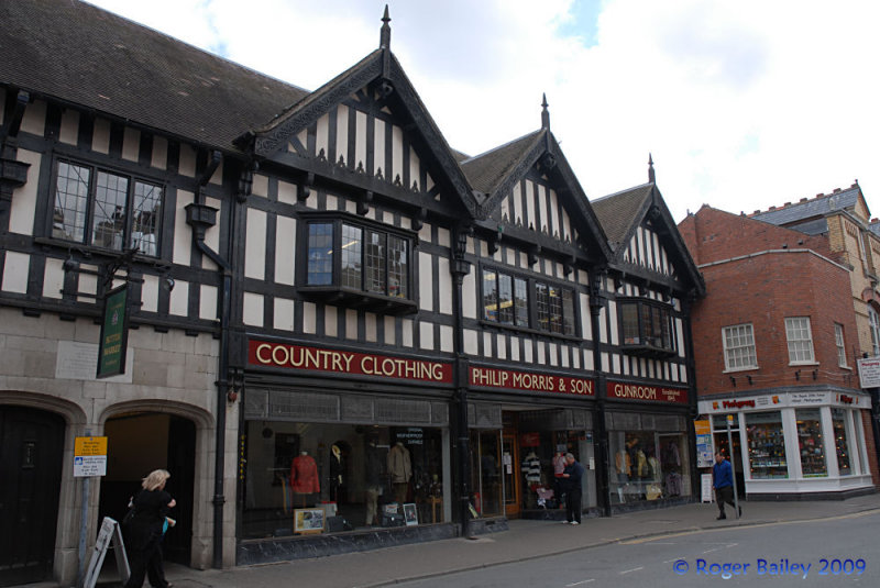 Old shop in Hereford.