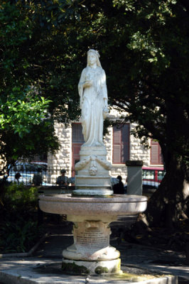 Howson Edwards Rutherfoord memorial fountain