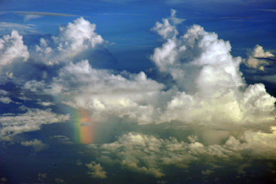 Rainbow, Flores Sea, Indonesia