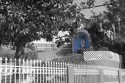 Corner house in Eagle Rock, CA