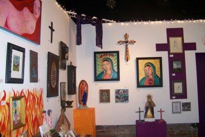 Saints and Sinners Art Show  at Folktree in Pasadena, CA