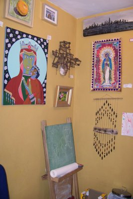 The little room in the back at the Cactus Gallery. Eagle Rock, Ca
