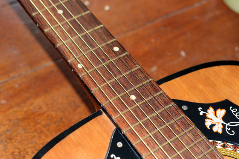 Vintage Kay acoustic neck