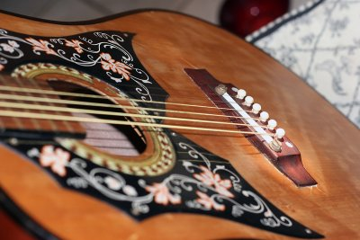Vintage Kay Acoustic Bad Top