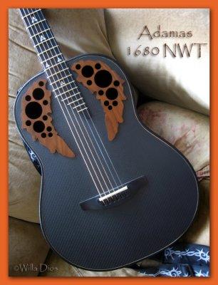 Adamas Guitar Model 1680 NWT
