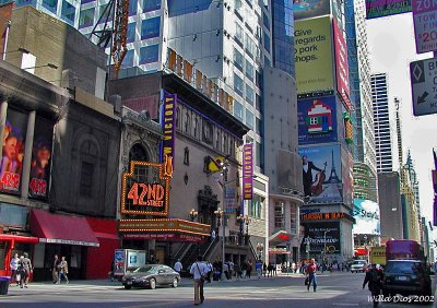 42nd Street On Times Square