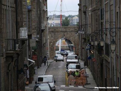 St. Malo - dwarsstraat