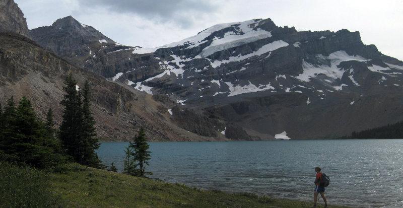 Merlin lake in the skoki area of the Rockies